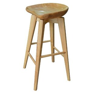 Manzer 29 Swivel Bar Stool Gracie Oaks