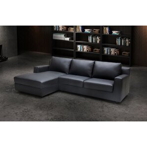 Leather Sleeper Sectional  sc 1 st  Wayfair : sofa bed sectional with chaise - Sectionals, Sofas & Couches