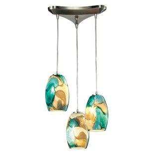 Adalheid 3-Light Cluster Pendant by Bloomsbury Market