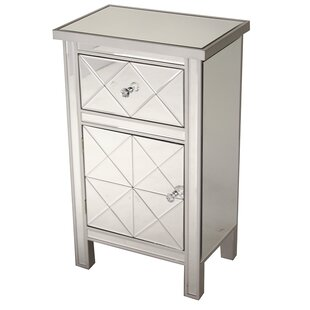 Jacque 1 Drawer 1 Door Accent Cabinet