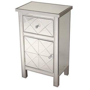 Jacque 1 Drawer 1 Door Accent Cabinet