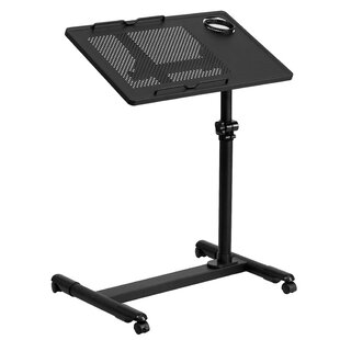 Review Adjustable Laptop Cart by Flash Furniture