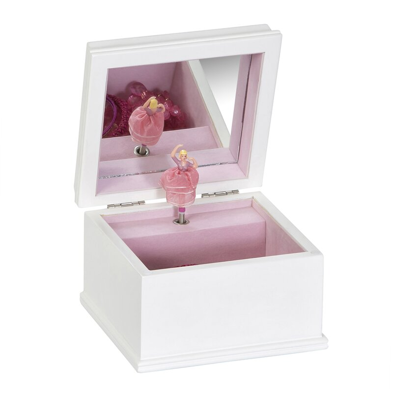 Mele Co Surrey Wooden Musical Ballerina Jewelry Box Reviews