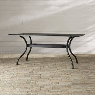 Burrowes Metal Dining Table by Darby Home..
