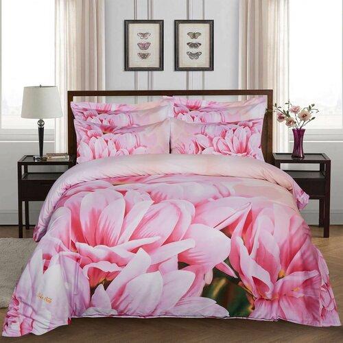 Kess InHouse Infinite Spray Art Emersion Teal Pink Bed Runner