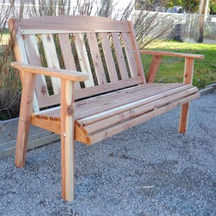Richfield Cedar Garden Bench by Loon Peak