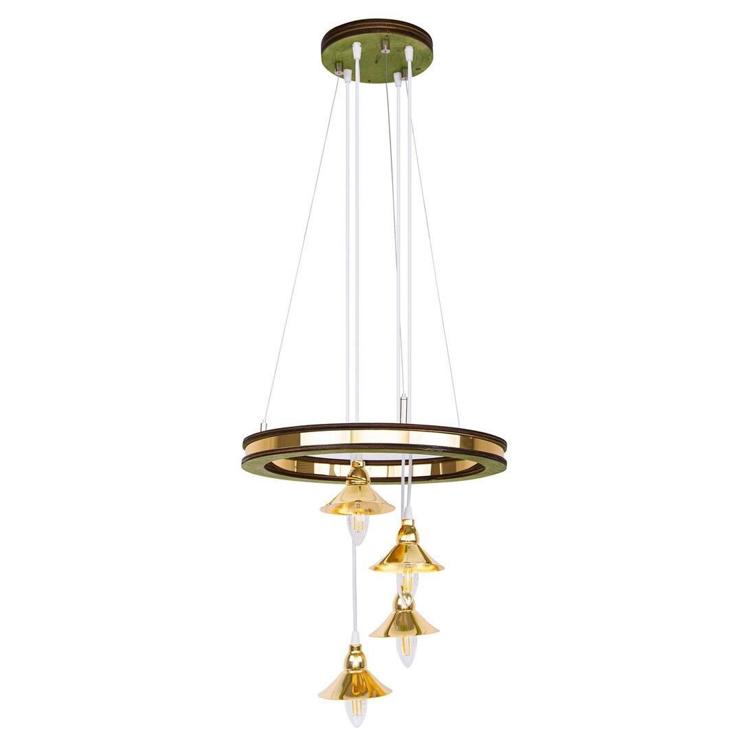 Sofia 4 - Light Cluster Bell Pendant