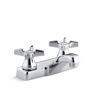 Kohler Triton Centerset Commercial Bathroom Sink Faucet, Requires Handles, Drain Not Included Image