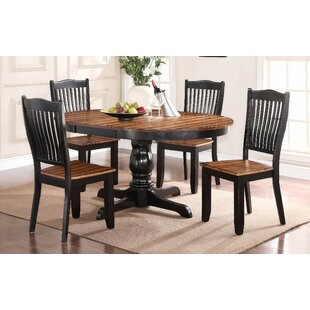 Manassa Extendable Dining Table Loon Peak
