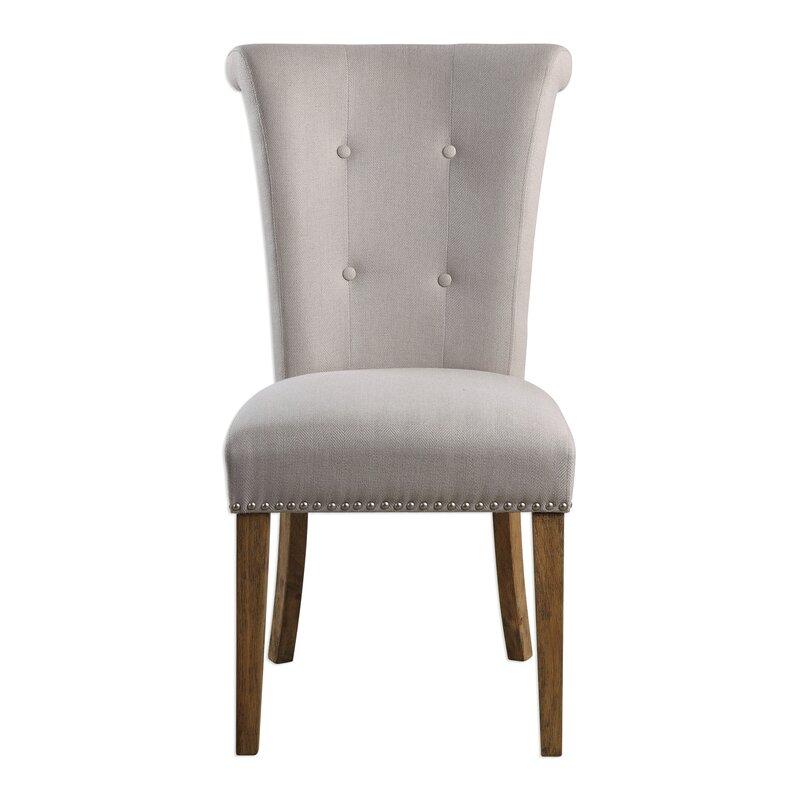Best Forbes Oatmeal Side Chair By Darby Home Co Big Save