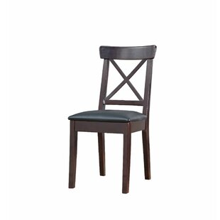 Celentano Padded Seat Wooden Dining Chair by Winston Porter Savings