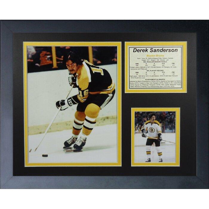 39ff64f8 Derek Sanderson - Boston Bruins Framed Memorabilia