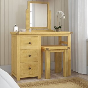 Dressing Table Set With Mirror By August Grove