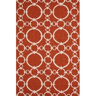 Chainweaver Hand-Woven Terracotta Indoor/Outdoor Area Rug