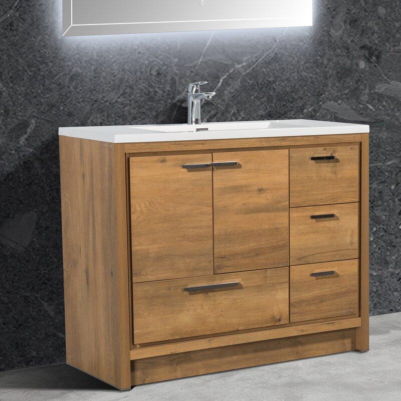 Millwood Pines Spiker Allier 42 Single Bathroom Vanity Set Wayfair