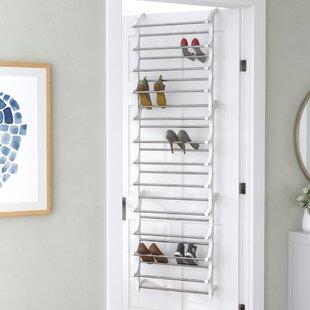 36 Pair Overdoor Shoe Organizer & Over-the-Door Shoe Racks u0026 Hanging Organizers Youu0027ll Love | Wayfair