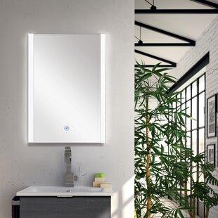Reviews Lorelei LED-Backlit Wall Mounted Mirror ByOrren Ellis