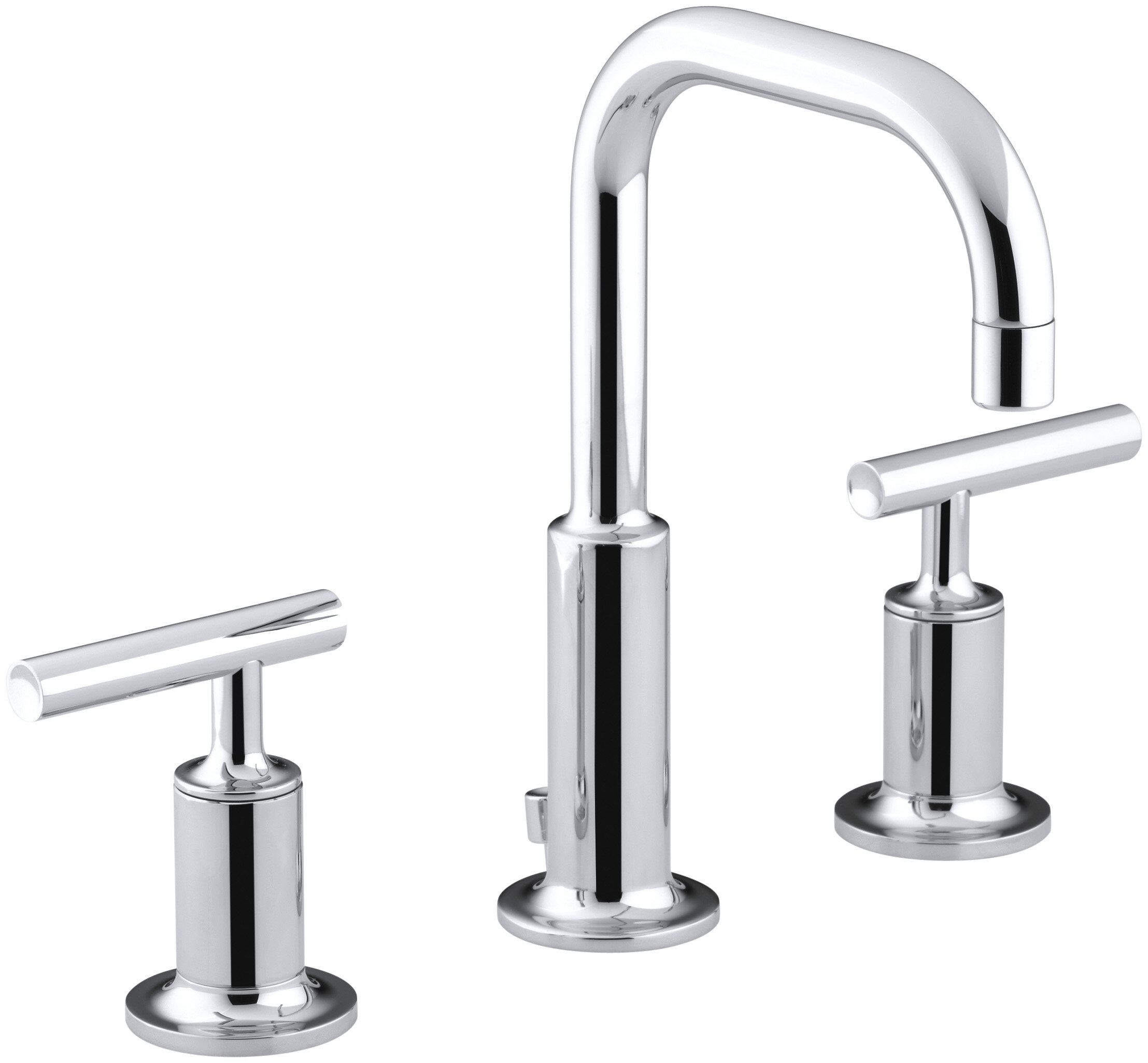 kitchen spread leaking handle pewter moen wide faucets of faucet kohler forte side two elegant attachment