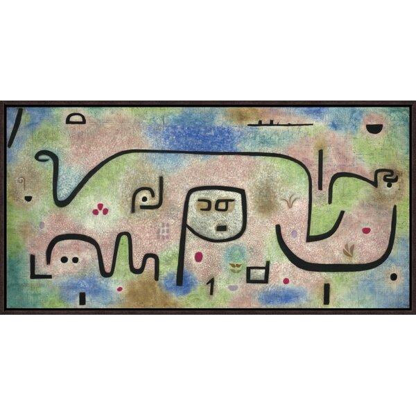 Vault W Artwork Insula Dulcamara By Paul Klee Framed Painting Print On Canvas Wayfair