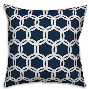 Kays Lattice Throw Pillow