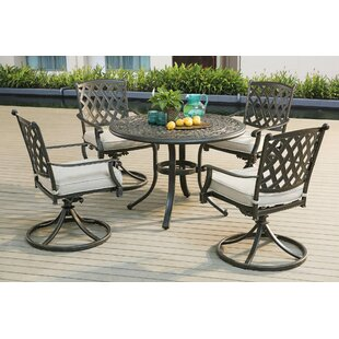 Barnard 5 Piece Dining Set by Rosalind Wh..
