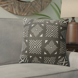 Bemelle Mud Cloth Cotton Throw Pillow