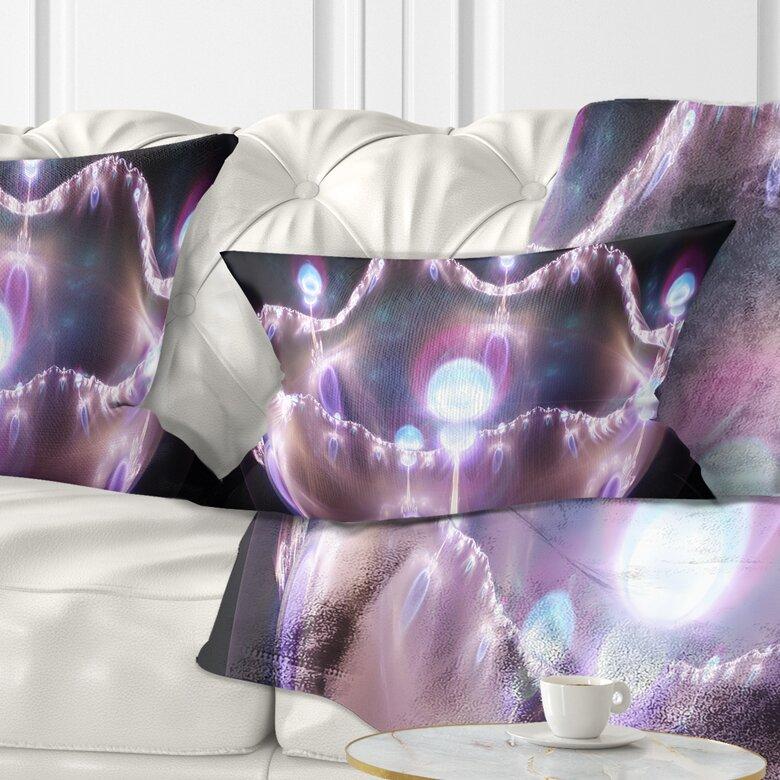 East Urban Home Abstract 3d Surreal Illustration Lumbar Pillow Wayfair
