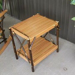 A&L Furniture Hickory End Table