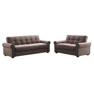 Rubin 2 Piece Living Room Set