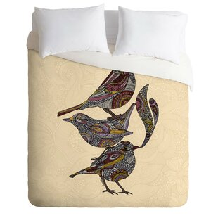 East Urban Home 3 Kings Duvet Cover Set