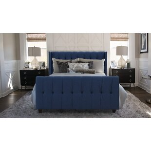 Jacobs Queen Upholstered Panel Bed