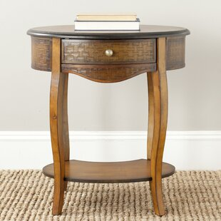 Order Shirleen End Table with Storage by World Menagerie