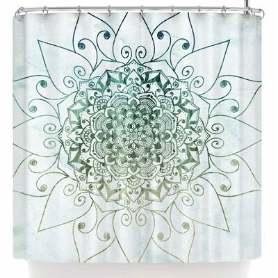 Nika Martinez Elegant Mandala Shower Curtain