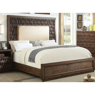 Barba Upholstered Panel Bed