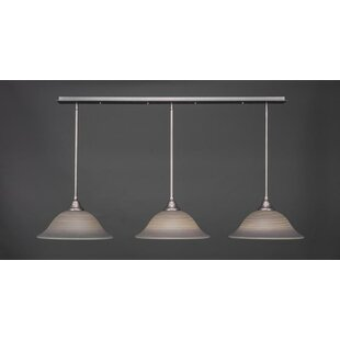 Red Barrel Studio Bertita 3-Light Kitchen Island Pendant