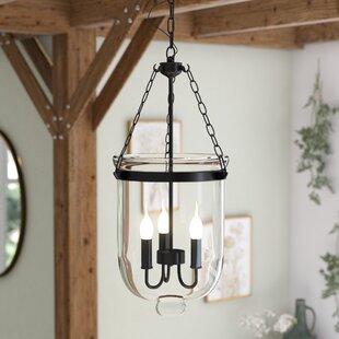 Laurel Foundry Modern Farmhouse Marwood 3-Light Urn Pendant