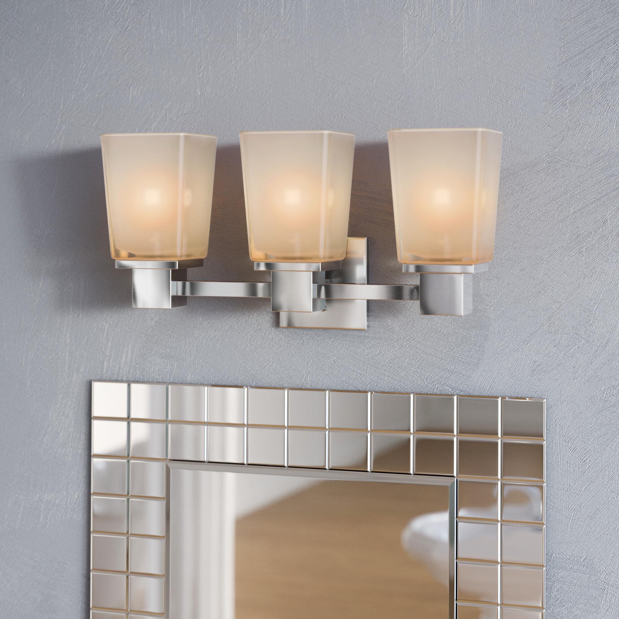 Ebern designs edington 3 light vanity light reviews wayfair