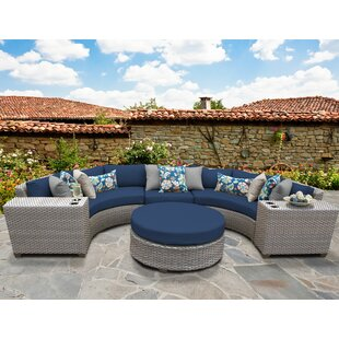 Meeks 6 Piece Sectional Seating Group with Cushions