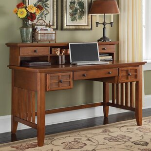 Three Posts Ferryhill Writing Desk with Hutch