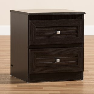 Poisson 2 Drawer Nightstand