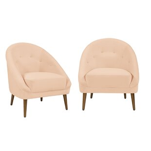 Jubilee Modern Barrel Chair (Set of 2)
