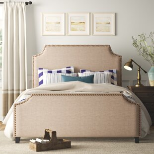 Diez Upholstered Panel Bed by Birch Lane™ Heritage