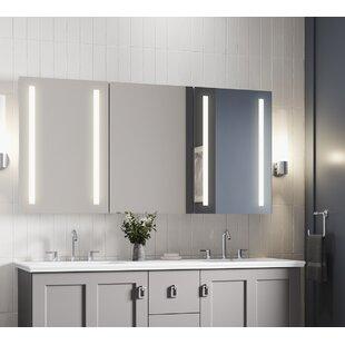 Verdera 60W X 30H Lighted Medicine Cabinet by Kohler