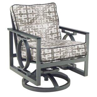 Sunrise Swivel Rocking Chair with Cushion by Leona