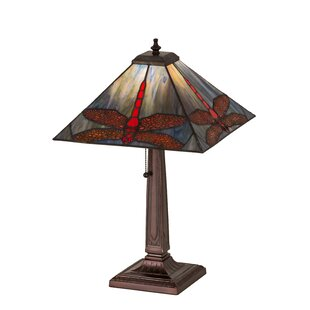 Prairie Animals Dragonfly 21 Table Lamp