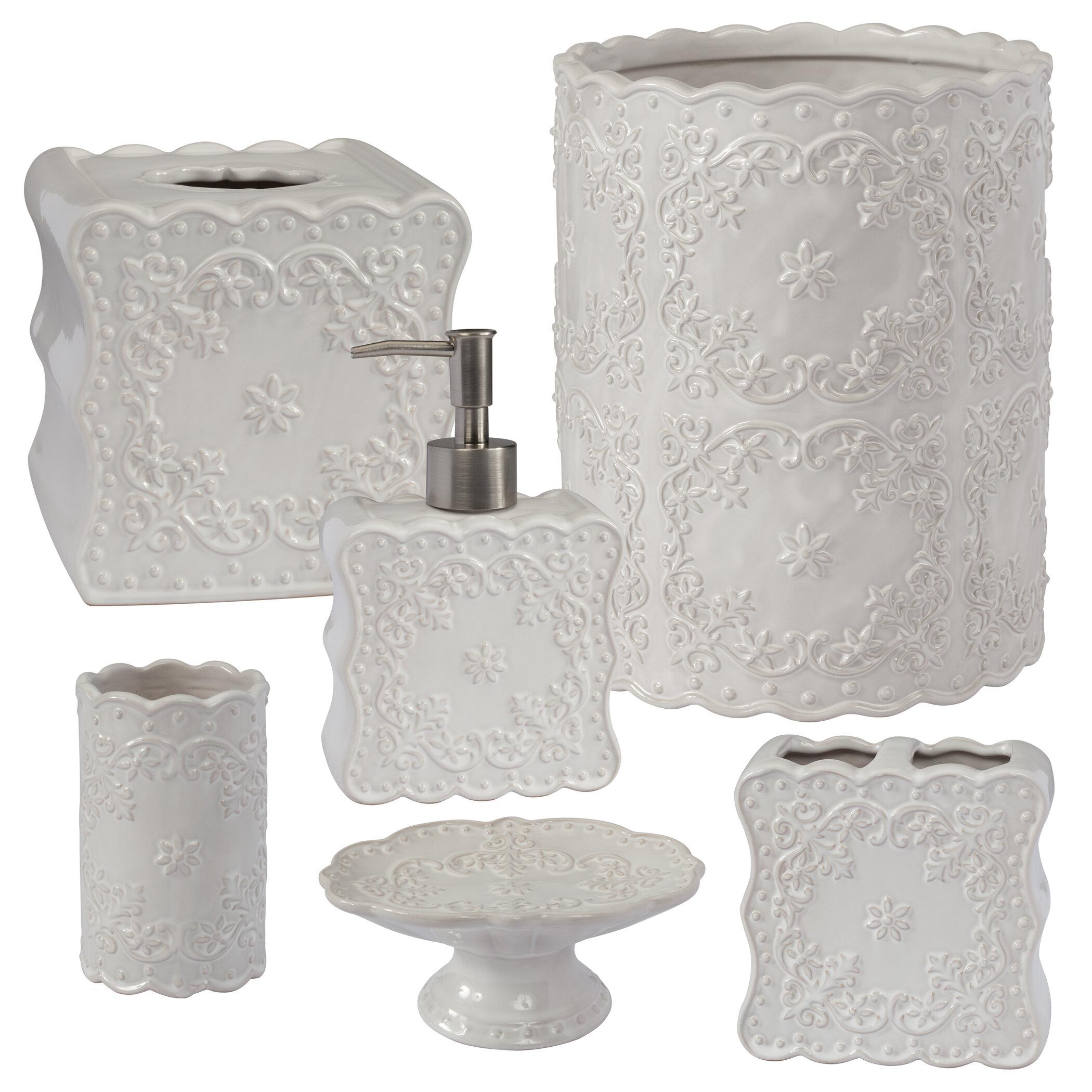 Eller 6 Piece Bathroom Accessory Set