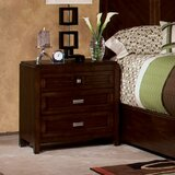 City Gazebo Nightstand in Chocolate Brown by Standard Furniture