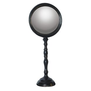 Compare prices Tickmacrevan Classic Makeup/Shaving Mirror By Winston Porter
