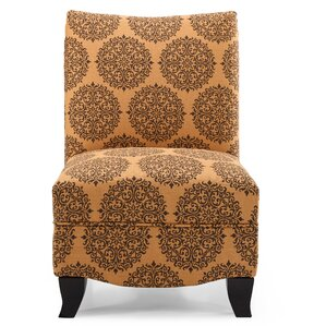 Dixie Gabrielle Slipper Chair by Charlton Home