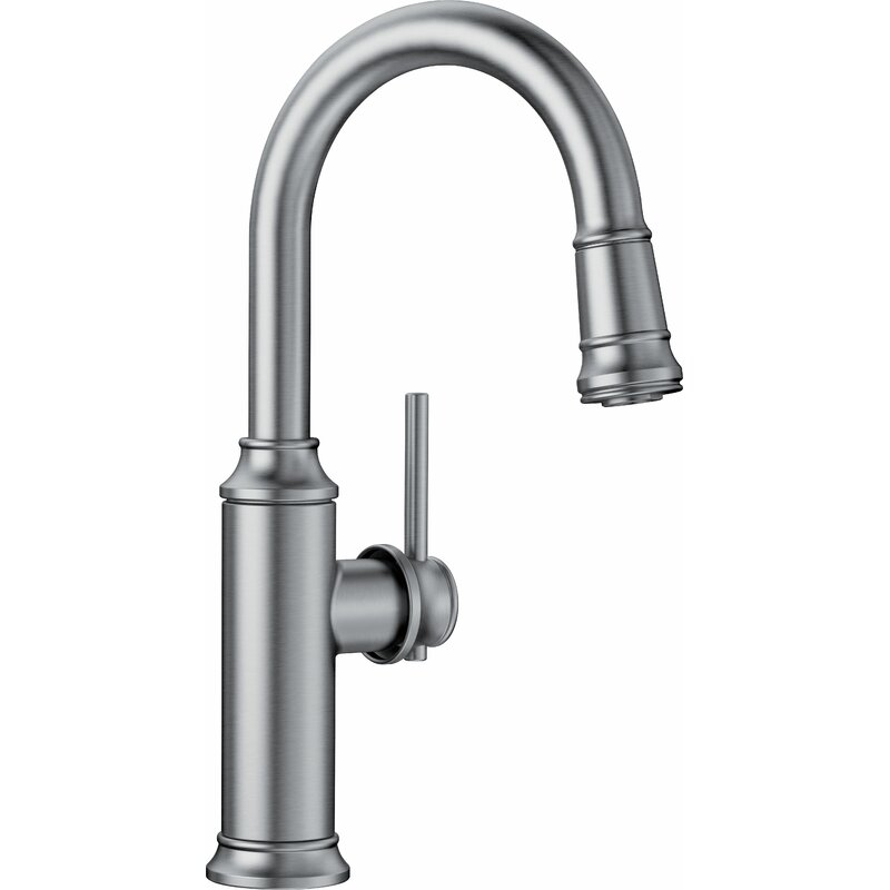 Blanco Empressa Pull Down Bar Faucet  Finish: Stainless